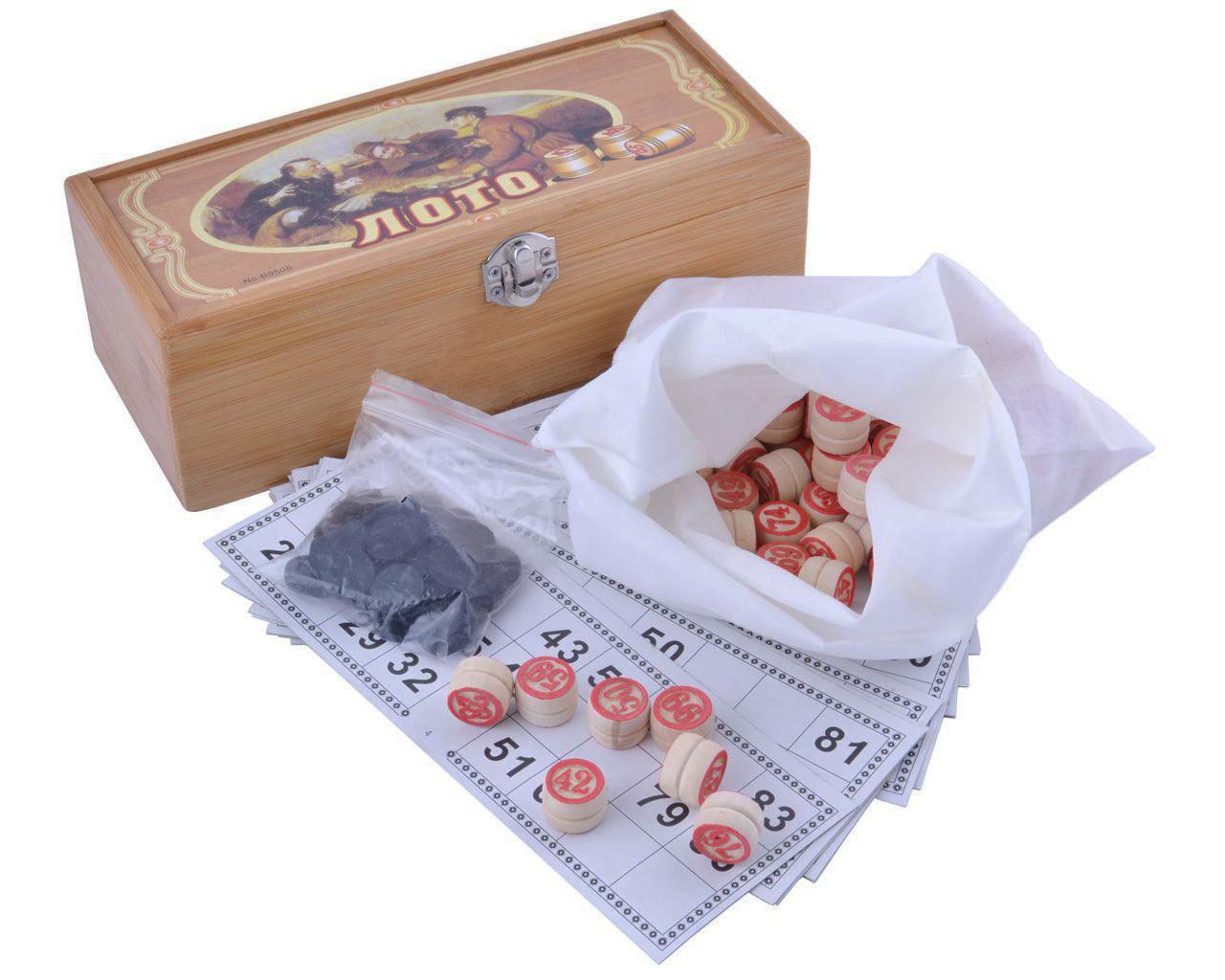 Подарочный набор Лото в шкатулке