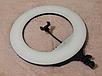 Кольцевая светодиодная лампа LED 46см селфи кольцо для блогера Q480 чехол, фото 2