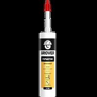 Герметик акриловий универсальный для внутренних и наружных работ GROVER Белый A100 / Польша  300 мл
