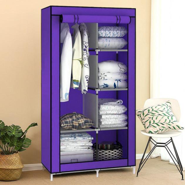 Складной шкаф тканевый для одежды, гардероб разборной,портативный