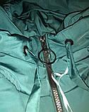 Пальто зимове, смарагд, B&B Angel, р. 164, фото 3