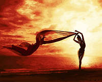 Картина по номерам Танец ветра 40Х50 BabylonVP1229