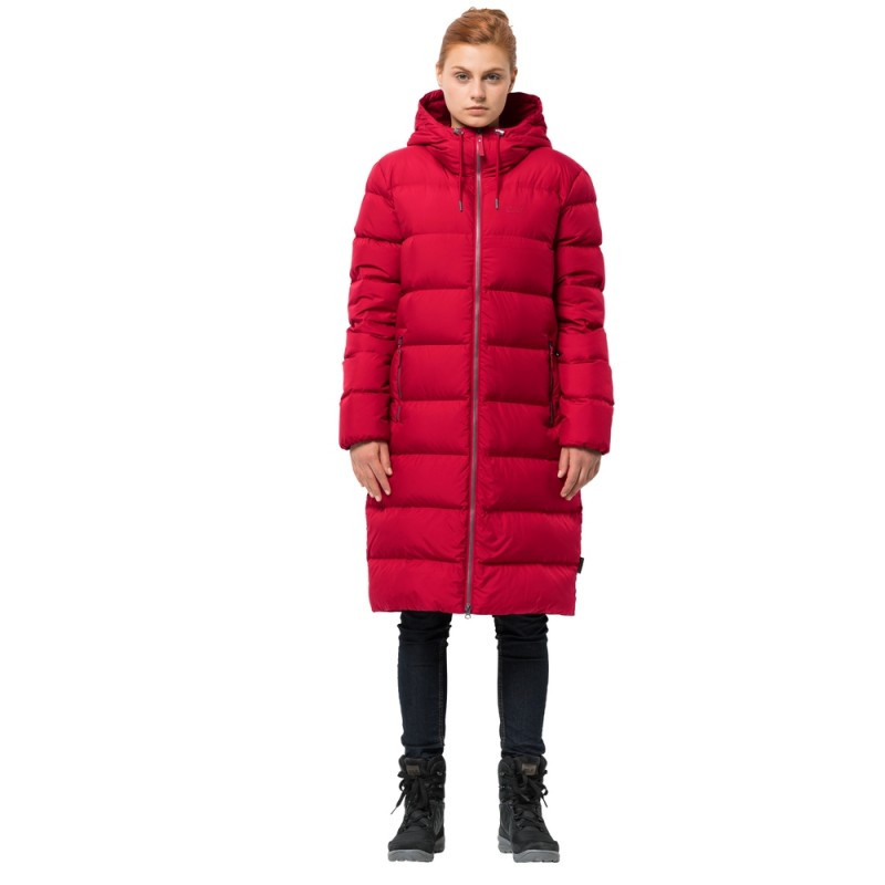 Женский пуховик Jack Wolfskin Crystal Palace Coat