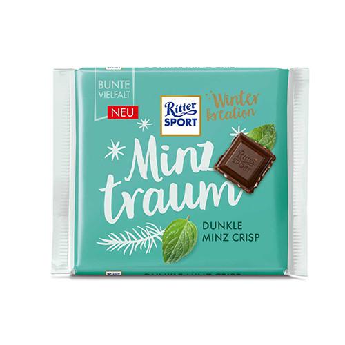 Шоколад Ritter Sport Dunkle Minz Crisp 100 g