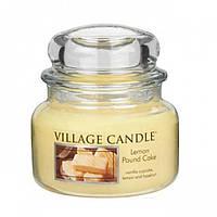 Свеча ароматизированная Village Candle Лимоний кекс (час горіння до 55ч)