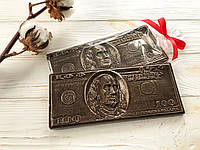 Стильный подарок девушке. Шоколадный доллар.