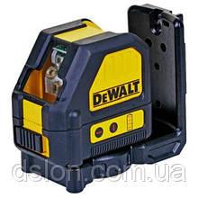 Лазер линейный (гориз+верт) DeWALT DCE088NR, (красный луч)10.8V Li-Ion,± 0.3мм/м,диапазон 30 м