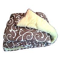 Одеяло Открытая овечья шерсть Размер 150х220 Полуторное