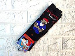 Прикольні чоловічі махрові шкарпетки, шкарпетки махрові дід мороз