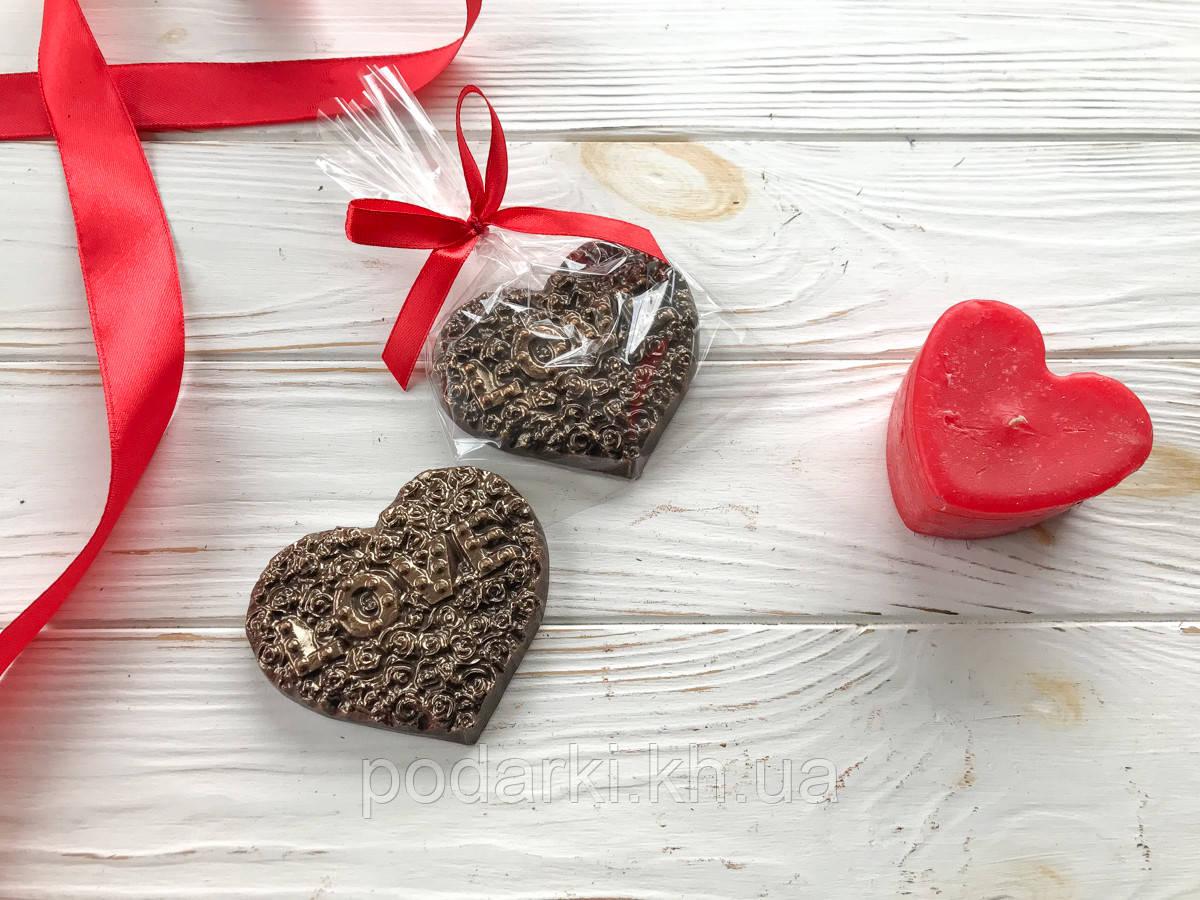 Шоколадное сердце для жены