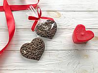 Сердце шоколадное. Подарок любимой девушке.