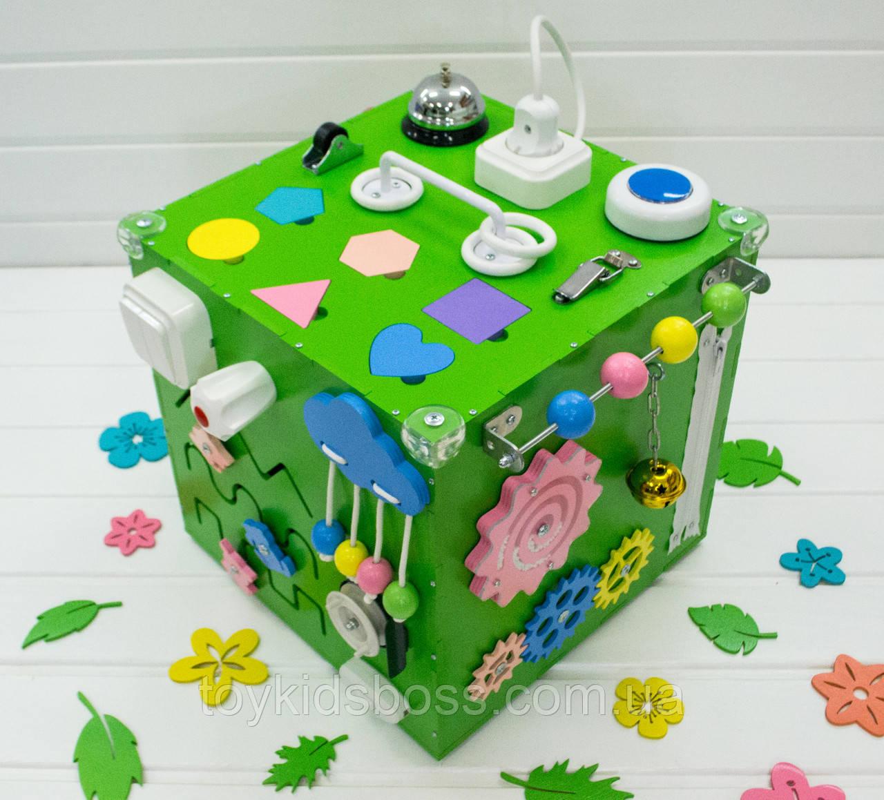 Куб Busy Cube (зеленый)