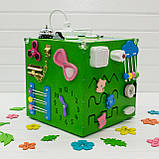 Куб Busy Cube (зеленый), фото 3