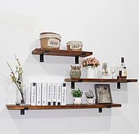Как украсить кухонные настенные полки