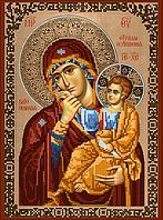 Набор для вышивки бисером POINT ART Божья матерь Отрада и утешение, размер 22х30 см, арт. 1618