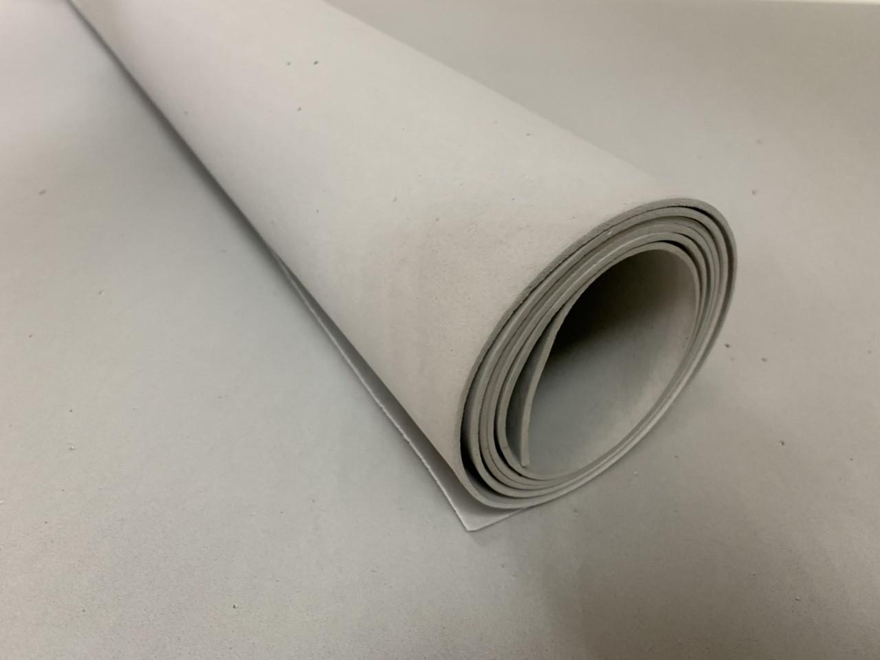 Эва, фоамиран  3075 2 мм 100х150 см серебристо-серая