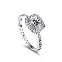 Кольцо позолоченное White Stone brand ROXI
