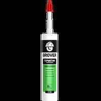 Герметик силиконовый универсальный GROVER U100 Белый 300 мл / Польша