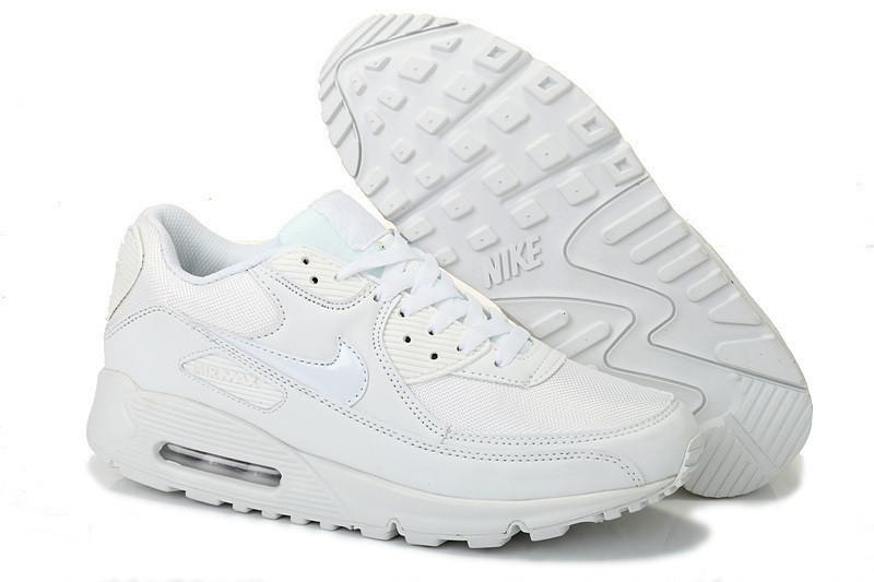 Кроссовки Nike Air Max 90 White Белые мужские