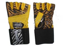 Перчатки тренировочные для тяжелой атлетики