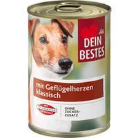 Dein Bestes паштет для собак с куриным мясом 400 г ж/б (Германия)