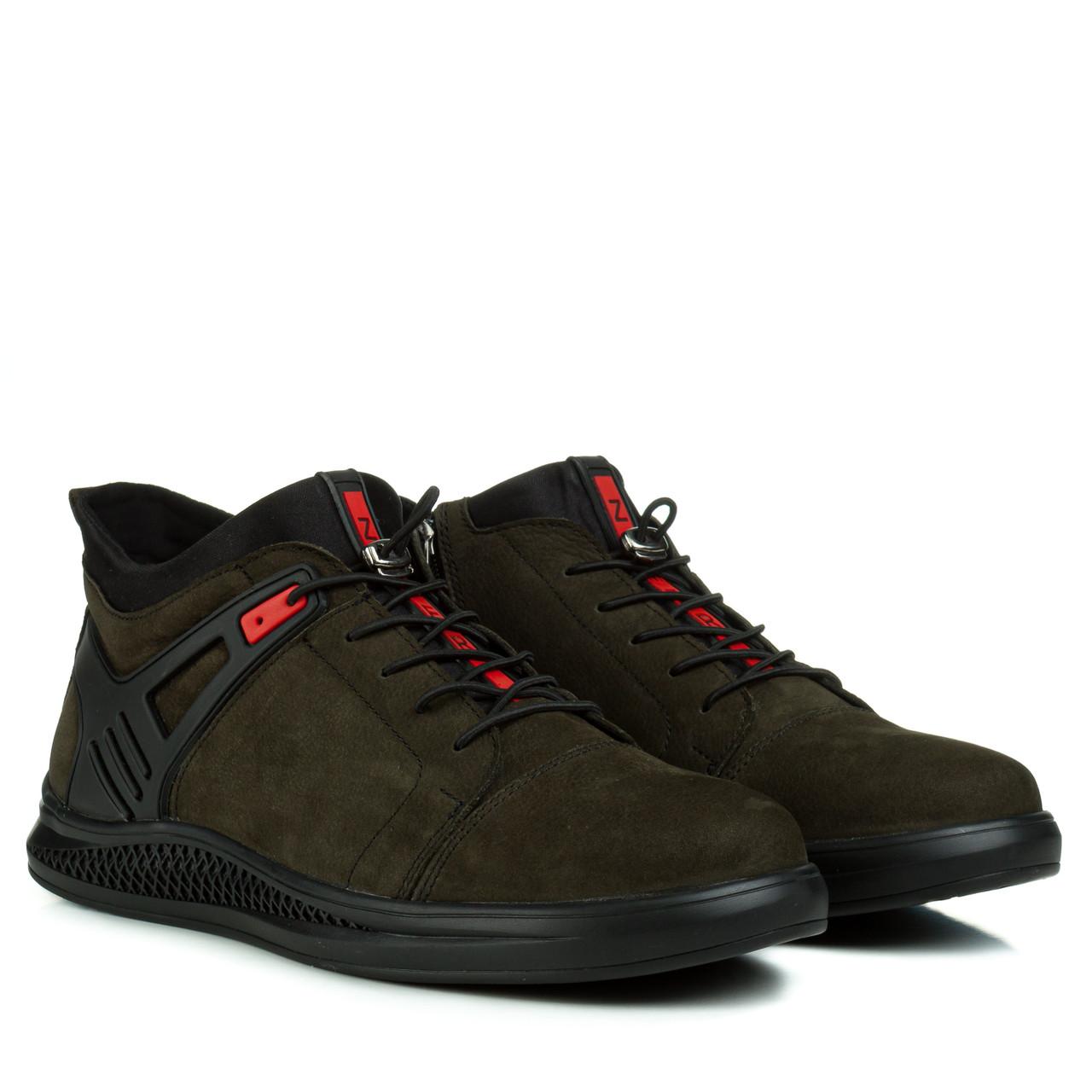 Ботинки мужские ZUMMER (стильные, удобные, актуальный оттенок)