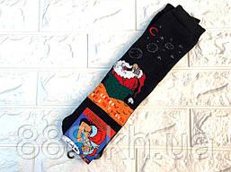 Прикольні чоловічі махрові шкарпетки, шкарпетки махрові дід мороз 2