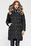 Модная куртка парка с мехом внутри р 46, X-Woyz LS-8806-25, фото 10