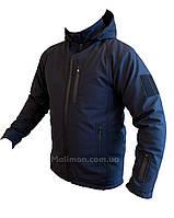 "Курточка Осень-Весна темно-синяя МЧС ""MALIMON DESIGN"" софт-шелл с подкладкой микро-флиса."