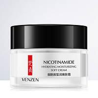Глубоко увлажняющий крем с ниацинамидом (никотинамидом) Venzen. 50гр.(0147)