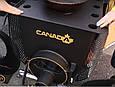 Печь Булерьян Canada с варочной поверхностью «02» со стеклом и перфорацией, фото 3