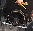 Печь Булерьян Canada с варочной поверхностью «02» со стеклом и перфорацией, фото 4