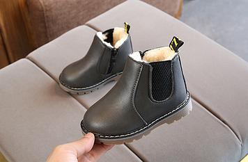 Детские зимние ботинки Детские ботинки зима Детские ботинки для мальчика Зимние детские ботинки для мальчика
