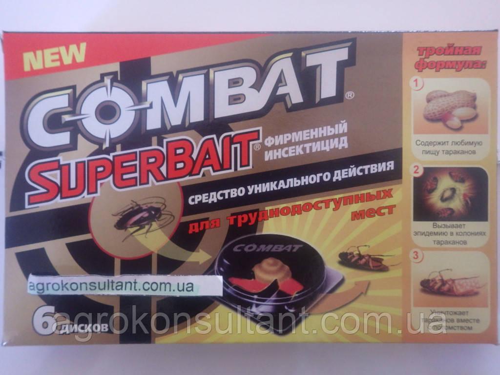 Combat (Комбат), 6 дисків - пастки для тарганів і мурашок