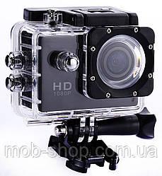 Туристична Екшн камера Action Camera D600 Full HD для підводної зйомки великий набір кріплень