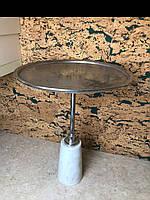 Металический круглый столик