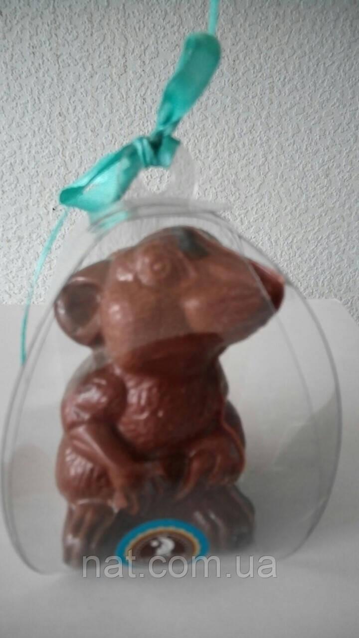 "Шоколадная фигурка мышка ""Лапочка""-символ 2020 г."