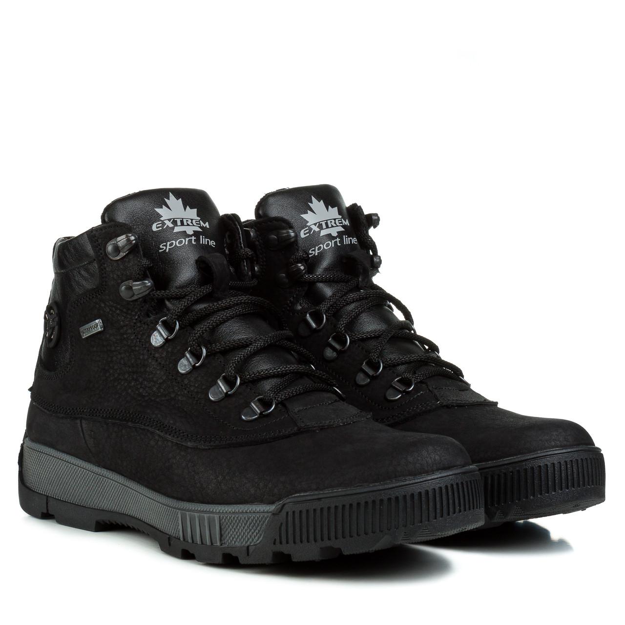 Ботинки мужские EXTREM (черного цвета, удобные, качественные)