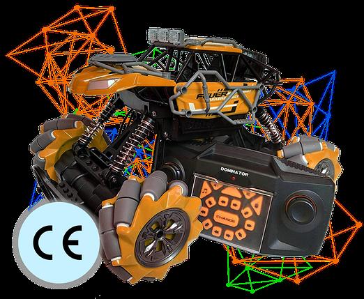 Трюкова Машинка Всюдихід Fever Buggy4WD Помаранчева 4x4 На Радіокеруванні 2.4 GHz Масштаб 1:16, фото 2