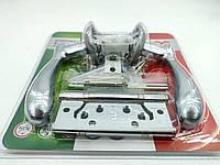 Комплект для межкомнатной двери RDA Imola защелка 6-45 + 2 петли хром/матовый хром (Китай)
