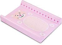 Пеленальная доска Sensillo Animals Pink (SILLO-1217)