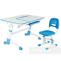 Парта для школьника FunDesk Amare Blue + Детский стул SST3 Blue