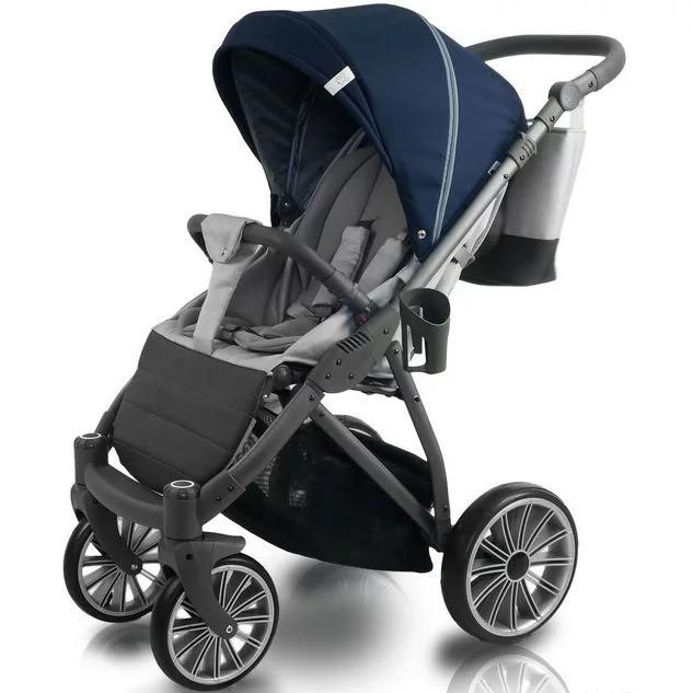 Прогулочная коляска Bexa iX 9 Серо-синяя