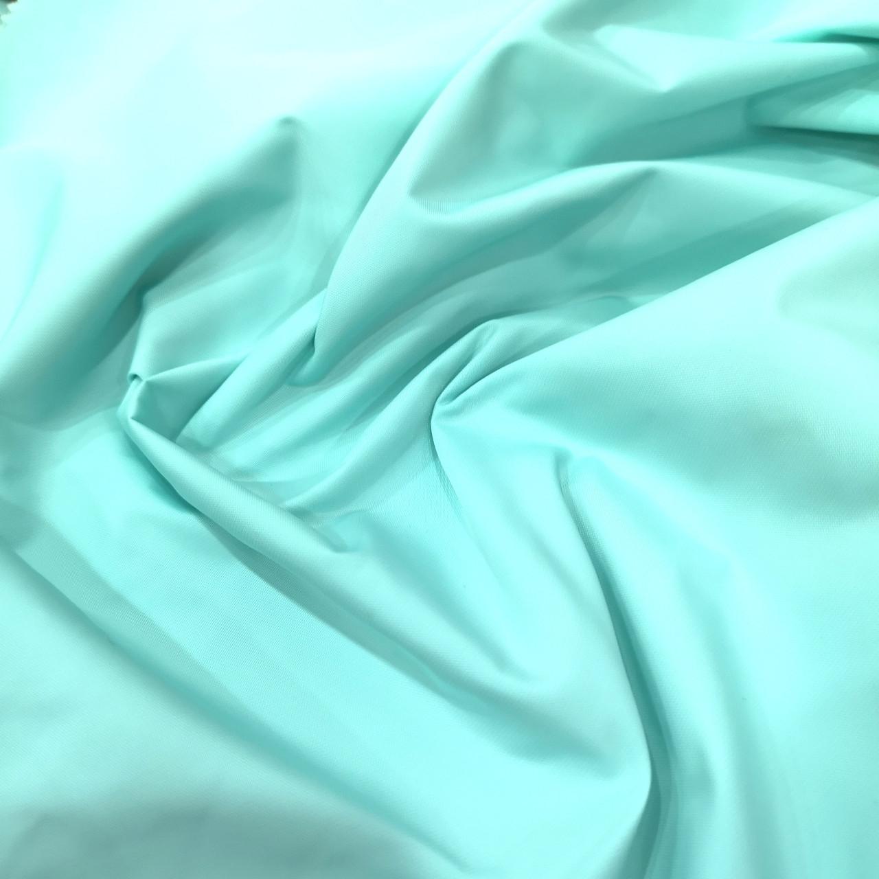 Ткань плащевка канада мята