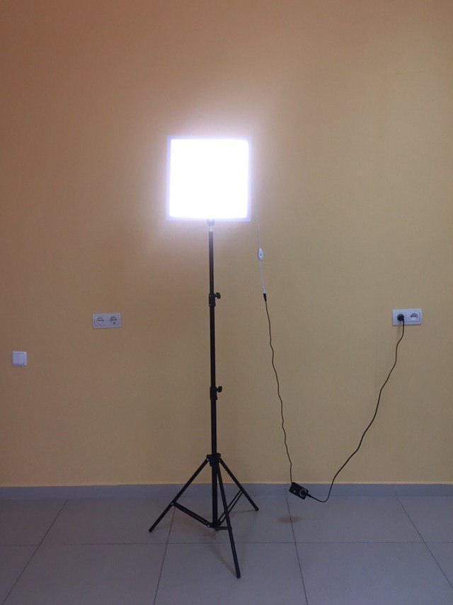 LED панель для студийной съемки, студийное освещение