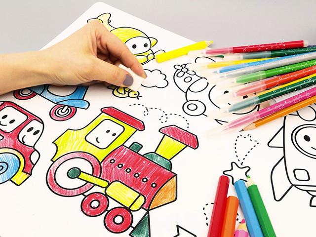 Раскраски и для развития малыша
