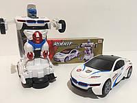 Машинка - трансформер ROBOT DEFORM YJ388-20,белая, фото 1