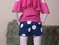 Шорты Ромашка детские для девочки, 152 р, фото 1