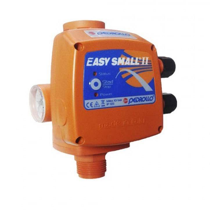Pedrollo EASY SMALL электронный регулятор давления (с манометром, старт 1,5 бар)