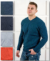 Мужской вязаный свитер, фото 1